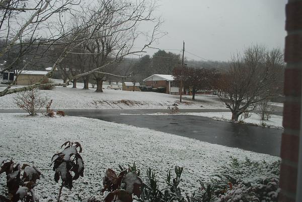 thanksgiving snow 2013